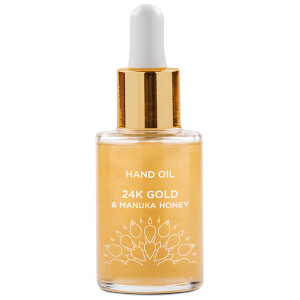 Huile pour les Mains Or 24 Carats & Miel de Manuka 24K Gold & Manuka Honey Hand Oil Manuka Doctor 25 ml