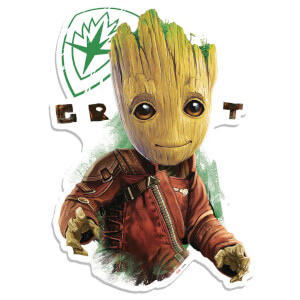 Marvel Guardians of the Galaxy Groot 'OO' Eyes Wall Art