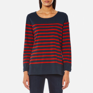 Maison Scotch Women's Breton T-Shirt - Combo B