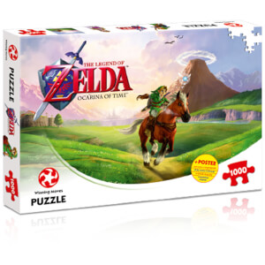Puzzle The Legend of Zelda Ocarina of Time (1000 Pièces)