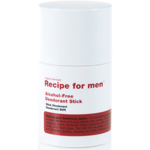 Desodorante en barra sin alcohol de Recipe For Men 75 ml