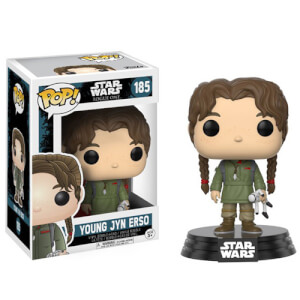 Figurine Funko Pop! Star Wars Rogue One (2e Vague) Jeune Jyn Erso