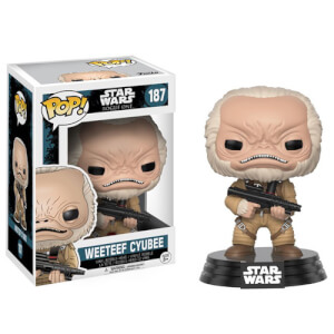Star Wars Rogue One Wave 2 Weeteef Cyubee Figura Pop! Vinyl