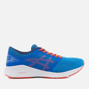 Asics Running Men's Roadhawk Trainers - Classic Blue/Cherry Tomato/Insignia Blue