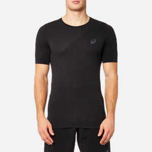 Asics Running Men's Seamless Top - Dark Grey Heather
