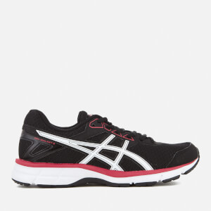 Asics Running Women's Gel Galaxy 9 Trainers - Black/Rouge Red/White