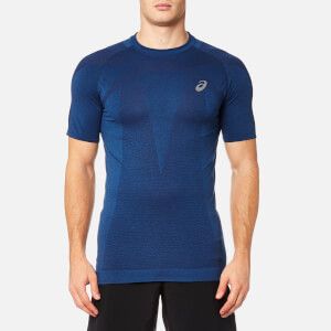 Asics Men's Short Sleeve Seamless Top - Limoges
