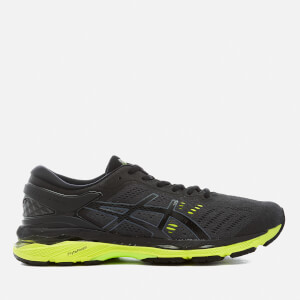 Asics Running Men's Gel Kayano 24 Trainers - Black/Green Gecko/Phantom