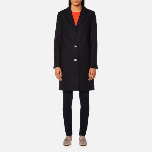 GANT Women's Wool Cashmere Coat - Marine