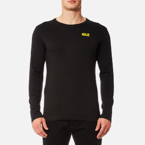Jack Wolfskin Men's Essential Long Sleeve T-Shirt - Black