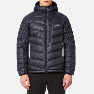 Jack Wolfskin Men's Neon Padded Jacket - Black