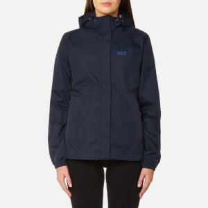 Jack Wolfskin Women's Cloudburst Jacket - Midnight Blue