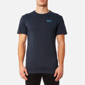 Jack Wolfskin Men's Essential Short Sleeve T-Shirt - Night Blue