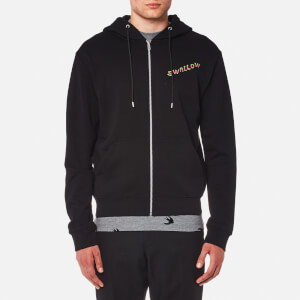 McQ Alexander McQueen Men's Electric Swallow Hoody - Darkest Black