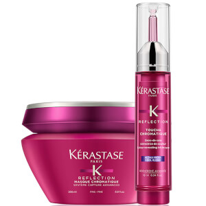Masque pour Cheveux Fins et cool Blonde Touche Chromatique Kérastase Reflection Duo