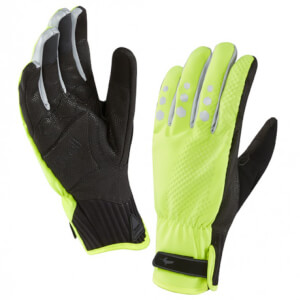 Sealskinz All Weather Cycle Gloves - Yellow/Black