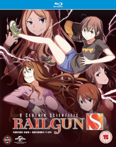 A Certain Scientific Railgun - Season 2 (Blu-ray/DVD Combo)
