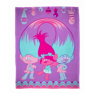 Trolls Glow Polar Fleece Blanket