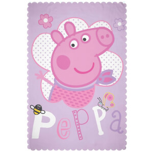 Peppa Pig Happy Fleece Blanket