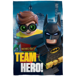 Plaid en Polaire LEGO Batman Movie - 120 x 150cm