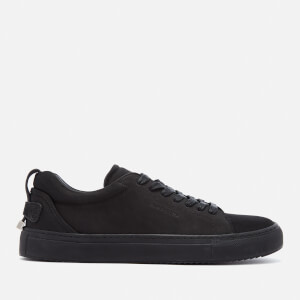 Buscemi Men's Lyndon Nubuck Low Top Trainers - Black