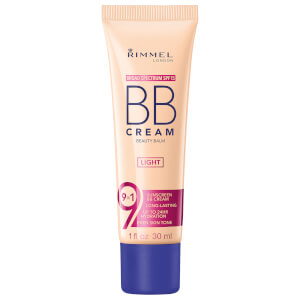 Crema BB 9 en 1 Super Make-Up de Rimmel 30 ml (varios tonos)