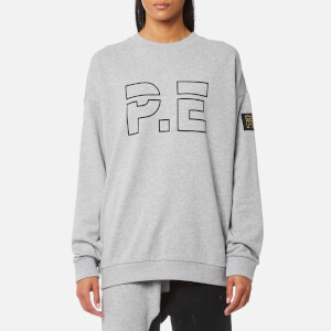 P.E Nation Women's Heads Up Sweatshirt - Grey Marl