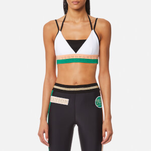 P.E Nation Women's Drop Shot Barre Bra - White