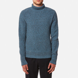 Oliver Spencer Men's Talbot Roll Neck Jumper - Hereford Sky Blue
