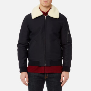 A.P.C. Men's Blouson Manchester Jacket - Dark Navy