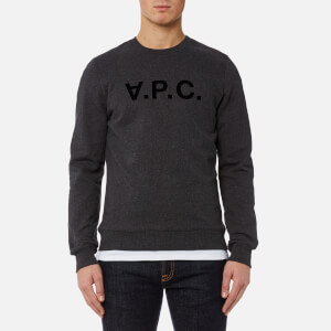 A.P.C. Men's VPC Sweatshirt - Anthracite Chine
