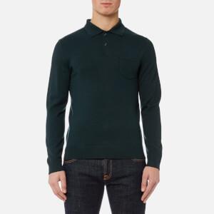 A.P.C. Men's Ricky Polo Shirt - Vert Sapin