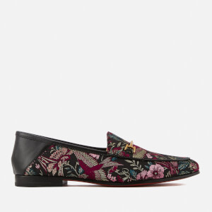 Sam Edelman Women's Loraine Loafers - Black Multi Majestic Bird