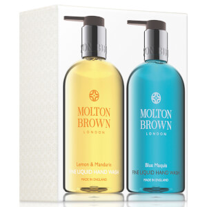 Molton Brown Lemon & Mandarin & Blue Maquis Hand Wash Set