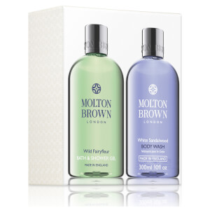 Molton Brown Wild Fairyfleur & White Sandalwood Bath and Shower Gel Set
