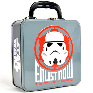 Star Wars Stormtrooper Embossed Tin Tote