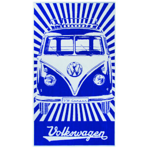 Serviette de Plage VW Collection Camper - Bleu