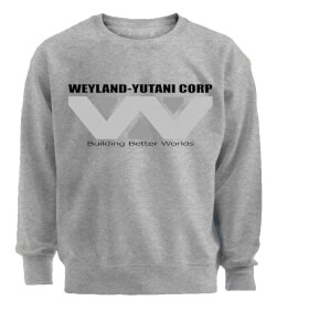 Weyland-Yutani Corp Men's Grey Sweatshirt