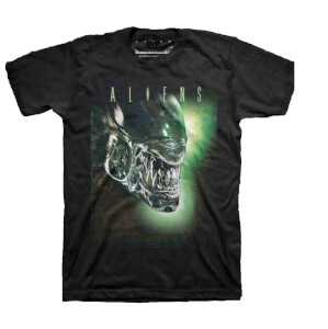 Aliens Xenomorph Men's Black T-Shirt