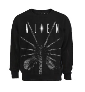 Alien Chestburster Men's Black Sweatshirt