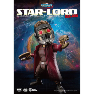 Figurine Star-Lord Gardiens de la Galaxie Vol.2 Beast Kingdom Egg Attack