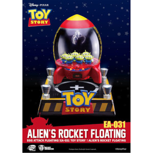 Egg Attack Aliens avec Fusée Flottante Lumineuse - Beast Kingdom Disney Toy Story 18cm