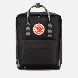 Fjallraven Kanken Backpack - Black/Striped