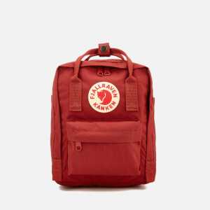Fjallraven Women's Kanken Mini Backpack - Deep Red