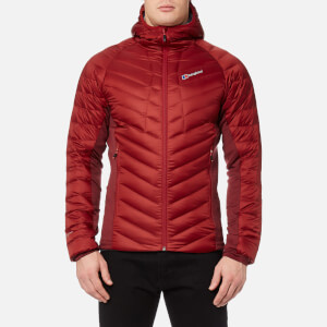 Berghaus Men's Tephra Stretch Down Jacket - Red Dahlia