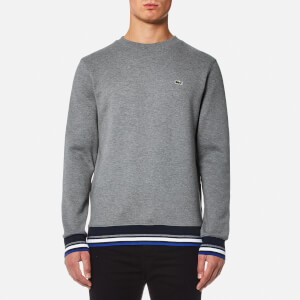 Lacoste Men's Welt Detail Sweatshirt - Galaxite Chine/Multico