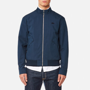 Lacoste Men's Zipped Blouson Jacket - Navy Blue
