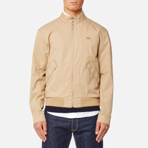 Lacoste Men's Zipped Blouson Jacket - Macaroon