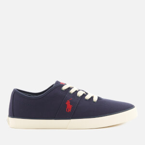 Polo Ralph Lauren Men's Halford Canvas Low Top Trainers - Newport Navy