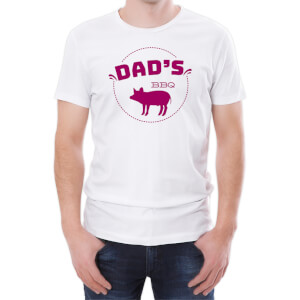 Dad's BBQ Men's White T-Shirt